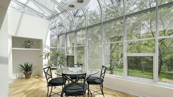 A Conservatory with our films applied